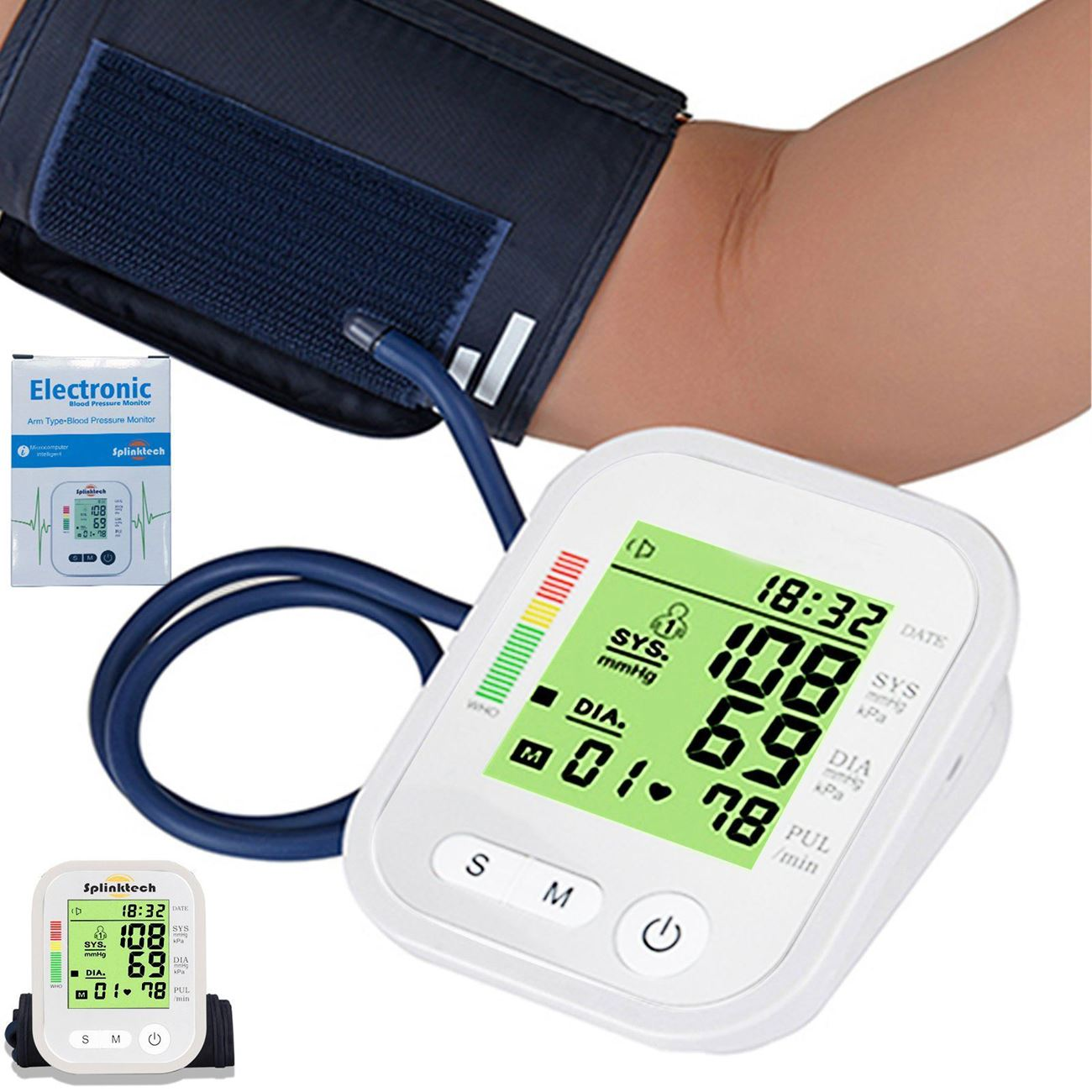 Deshify. RAK283 Electronic Blood Pressure Monitor