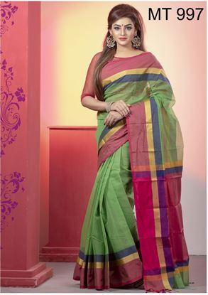 Picture of Tangail half silk Sharee MT-997