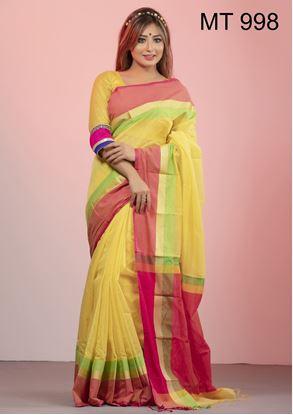 Picture of Tangail half silk Sharee MT-998