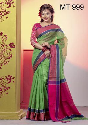 Picture of Tangail half silk Sharee MT-999