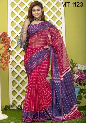 Picture of Tangail half silk Sharee MT-1123