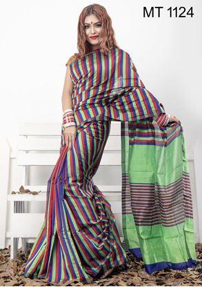 Picture of Tangail half silk Sharee MT-1124
