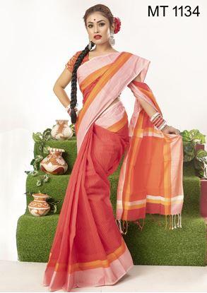 Picture of Tangail half silk Sharee MT-1134