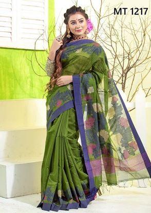 Tangail half silk Sharee MT-1217