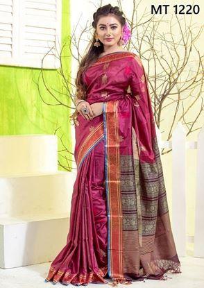 Tangail Silk Jamdani Sharee MT-1220