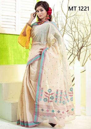 Tangail Cotton jamdani sharee MT-1221