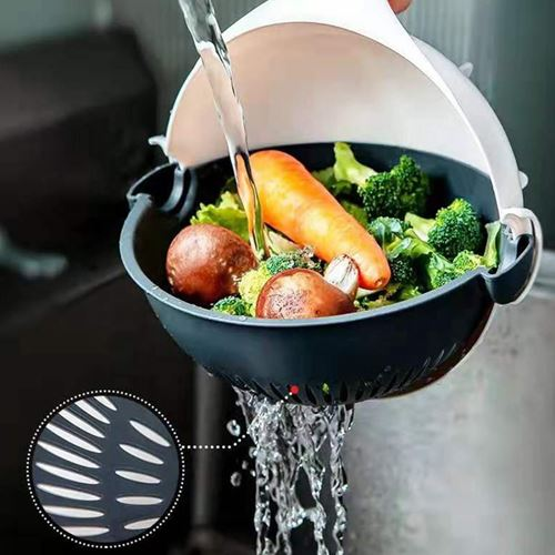 Picture of Magic Vegetable Cutter  6 in 1 Slicer, Multi functional