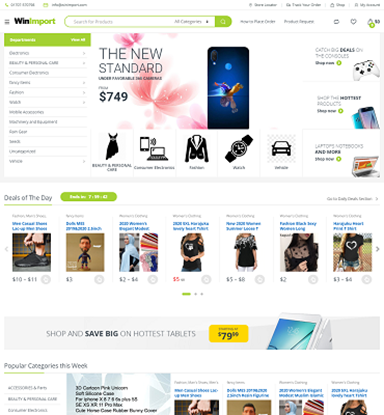 Picture of E-commerce Website