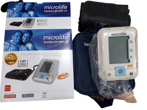 Picture of Microlife BP-3AR1-3P Automatic Blood Pressure Monitor