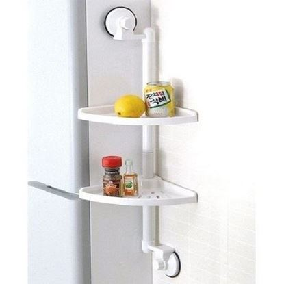 Picture of Double Suction Cup Corner Rack