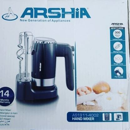 Picture of Arshia Hand mixer AS1911-4002
