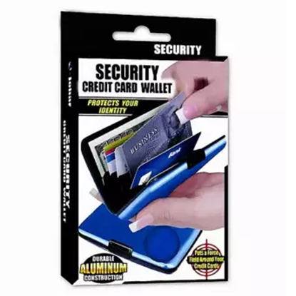 Picture of Security Credit Card Wallet