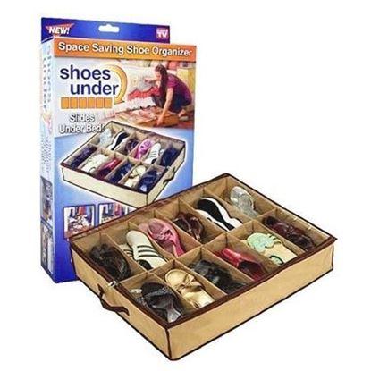 Picture of shoes holder slides holder bed