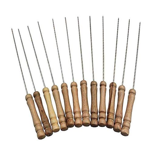 Picture of 12 Pieces Barbecue Grill Sticks Set