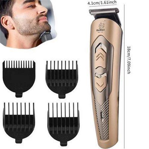Picture of Kemei KM-756 Rechargeable Hair Clipper Professional Cordless Hair Trimmer Beard Cutter Shaving Haircut Machine Men