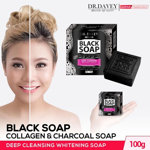 Picture of DR. Davey Black Soap 100gm