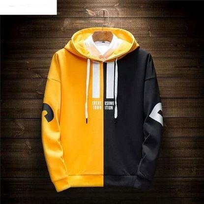 Picture of Stylish Casual Long Sleeve Hoodies For Men
