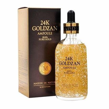 Picture of 24K Goldzan Ampoule 99.9 Pure Gold Serum