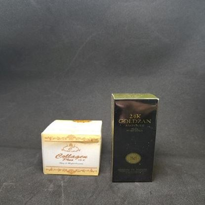 Picture of COLLAGEN PLUS Day Night Cream + 24K Goldzan Ampoule Serum-Combo Offer