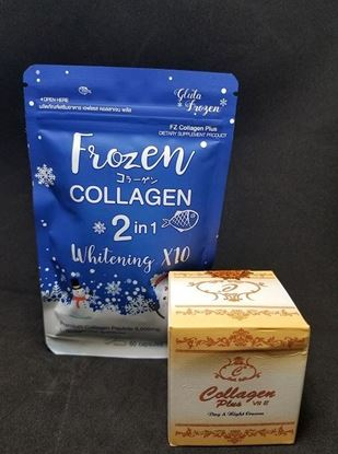 Picture of COLLAGEN PLUS Day Night Cream + Frozen Collagen 2in1 Vitamin Capsul-Combo Offer