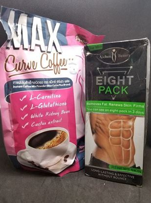 Picture of Combo Offer (EIGHT PACK NATURAL BODY CREAM +MAX SLIMMING CURVE COFFEE 150G)