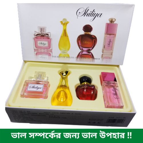 Picture of Original shiliya perfume 4 in 1 Set  For Women Sexy Long Lasting Fragrances