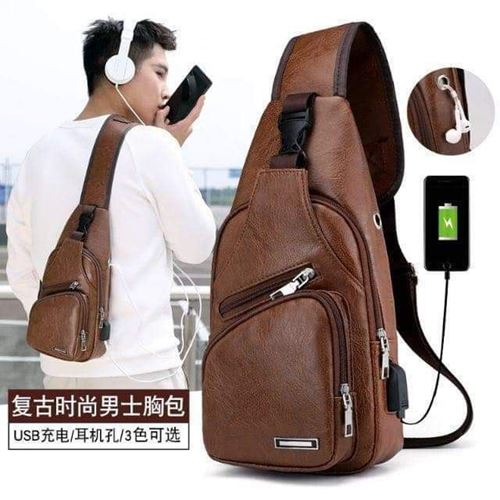Picture of Unisex Crossbody Bag Brown