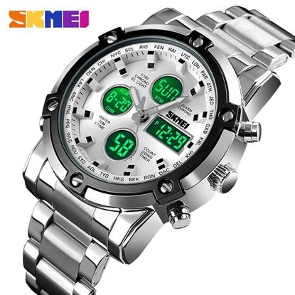 Picture of SKMEI  (SP-7003)Sports Fashion Quartz Dual Display Waterproof Watch For Men