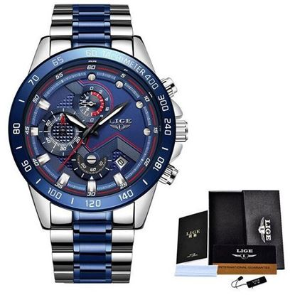 Picture of LIGE 9982E Stainless Steel Chronograph Watch