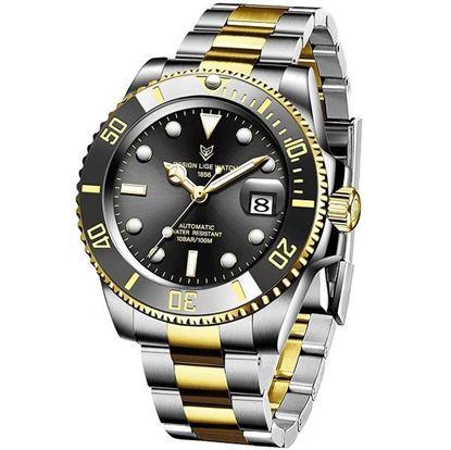Picture of LIGE 10045B Luxury Fashion Diver Watch Men 30ATM Waterproof Date Clock Sport Watches Mens Quartz Wristwatch Relogio Masculino