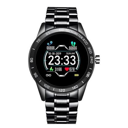 Picture of LIGE Steel Band Smart Watch Multifunction