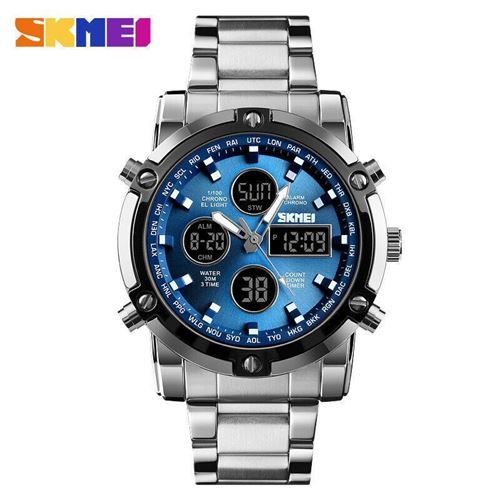 Picture of SKMEI SPORTS (SP-7001) FASHION QUARTZ DUAL DISPLAY WATERPROOF WATCH FOR MEN