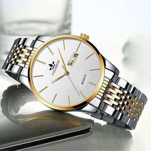 Picture of Fourron Fashion Business Waterproof Calendar Stainless Steel 3006