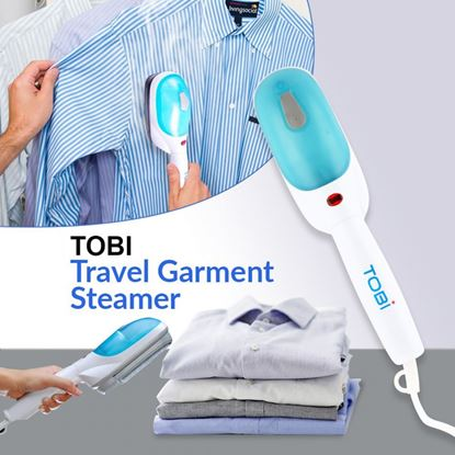 Picture of TOBI Portable Handle Travel Steamer Iron