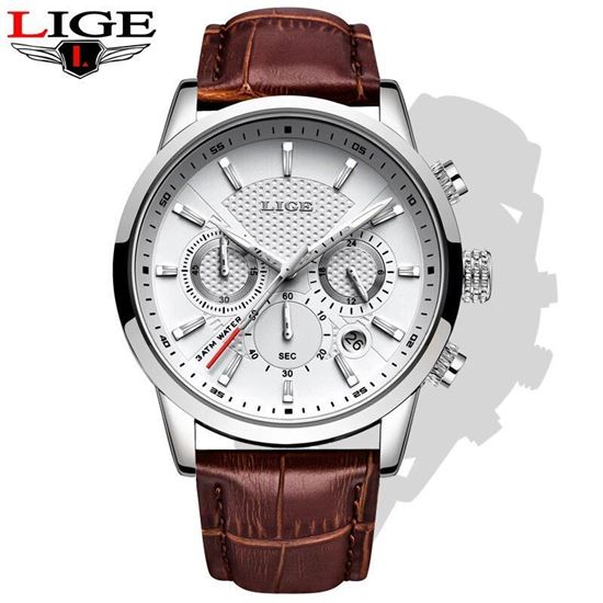 Picture of LIGE LG9866J  Watches Brand Luxury Leather