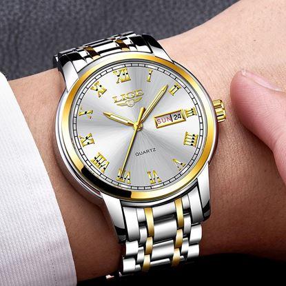 Picture of LIGE LG9846 Luxury Quartz Calendar Watch