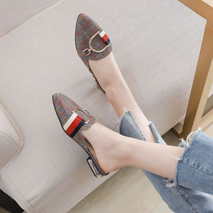 Picture of Women Low Hells Shoe WS104