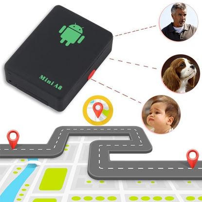 Picture of A8 Sim Device GPS Tracker & Voice Tracker.