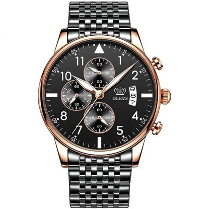 Picture of Olevs BL 2869  Three Eyes Six Hands Multifunction Chronograph Watch