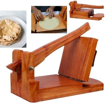 Picture of Wooden Ruti Maker with Ruti paper & both side gum tape- Brown