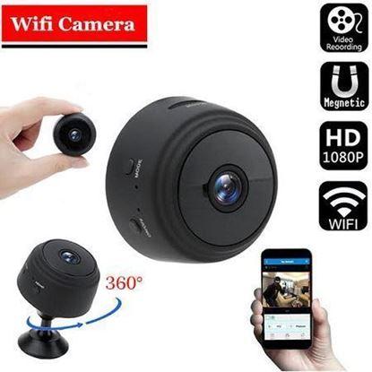 Picture of A9 Mini WiFi Camera 1080P Full HD Night Vision Wireless IP Camera (ss)