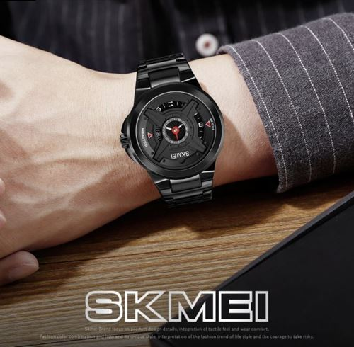 Picture of SKMEI 1699 Men Quartz Watches Luxury Brand Wristwatches  ( BLACK )