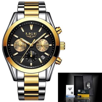 Picture of LIGE9872B WATCH MENS MILITARY WATERPROOF