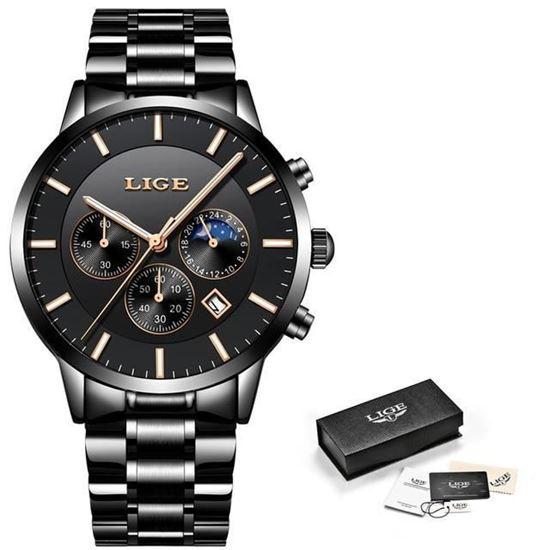 Picture of LIGE Men's Luxury Watch 9893F