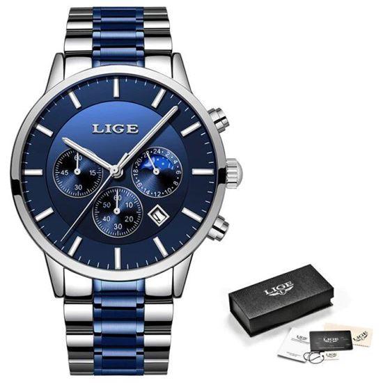 Picture of LIGE Men's Luxury Watch 9893L