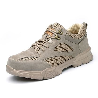 Picture of PREMIUM CANVAS SAFETY  PROTECTION SHOES