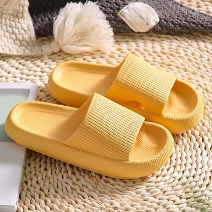 Picture of Women Summer Slippers Thick Heel Soft EVA Indoor Outdoor Slippers