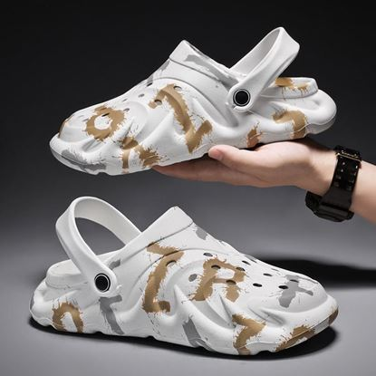 Picture of New Arrival Men's Clogs Summer Casual Beach Sandals Zapatos