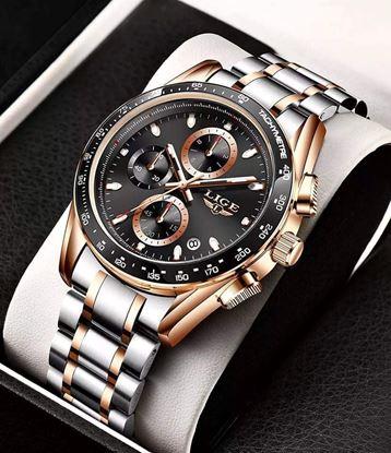 Picture of LIGE Men Watches Waterproof Multifunction Wrist Watch